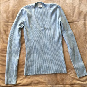 Old Navy Sky Blue V-Neck Sweater